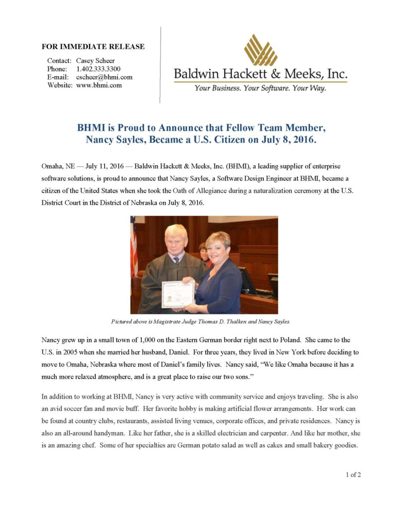 press releases Press Releases BHMI 2016 Nancy Sayles Receives U S Citizenship 071116 Page 1 791x1024