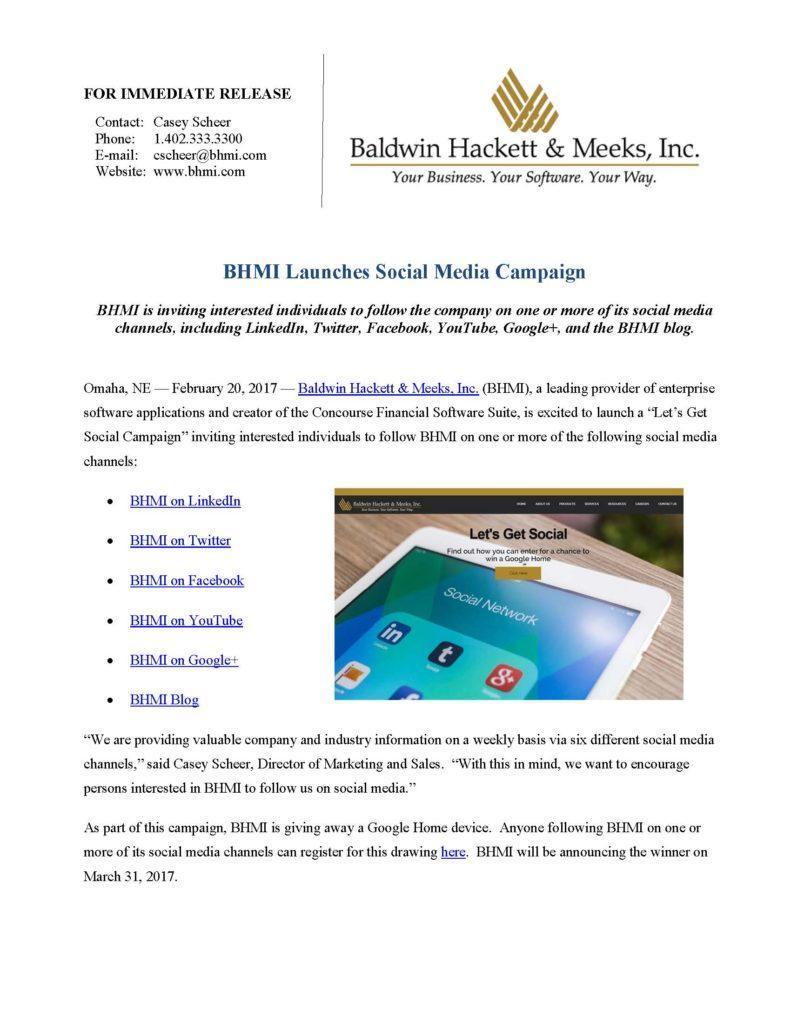 press releases Press Releases BHMI 2017 BHMI Social Media Campaign Page 1 791x1024
