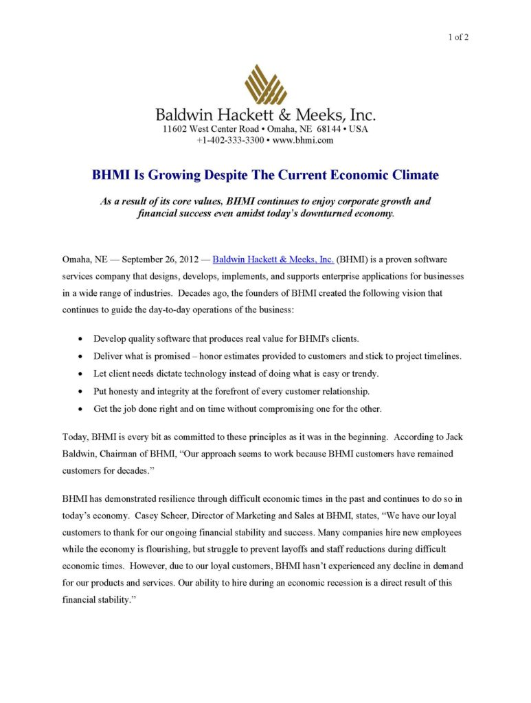 press releases Press Releases BHMI 2012 Company Growth Page 1 773x1024