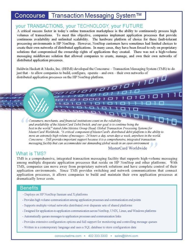 brochures Brochures Concourse TMS Brochure 0211 Page 1 791x1024
