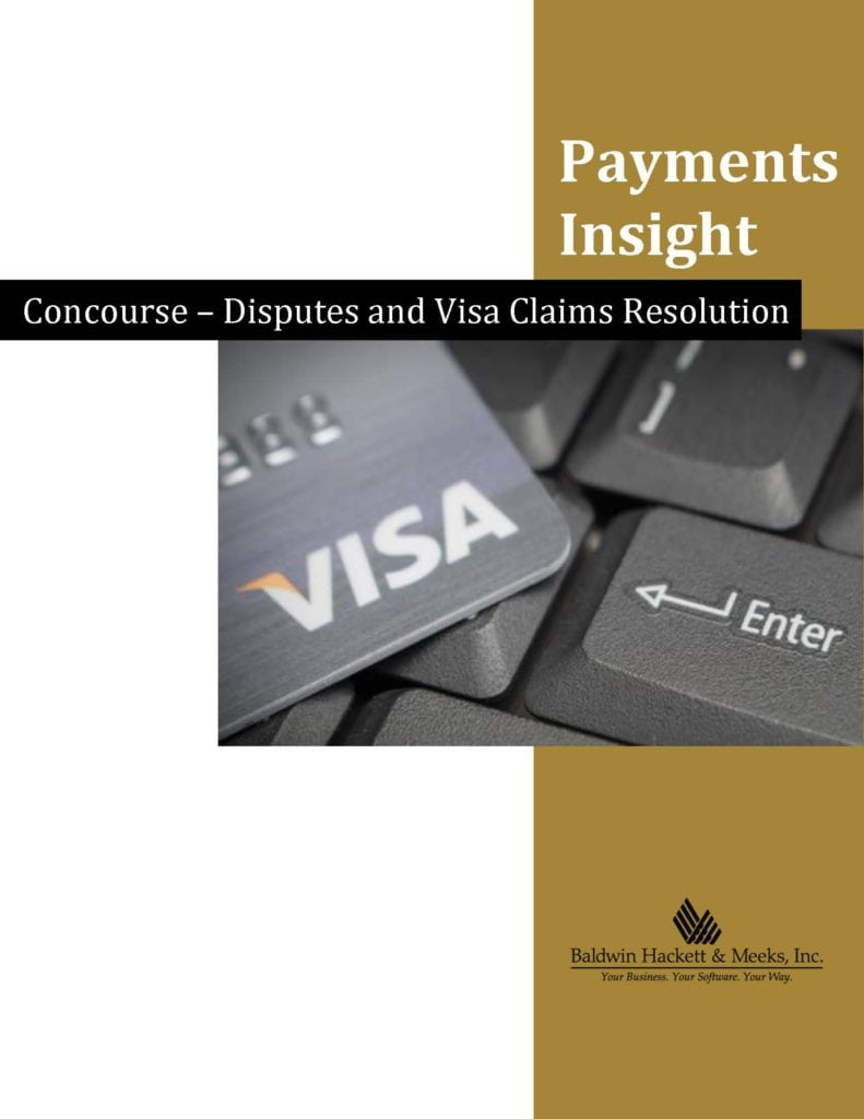 White Papers Concourse Disputes and Visa Claims Resolution VCR Page 1 791x1024