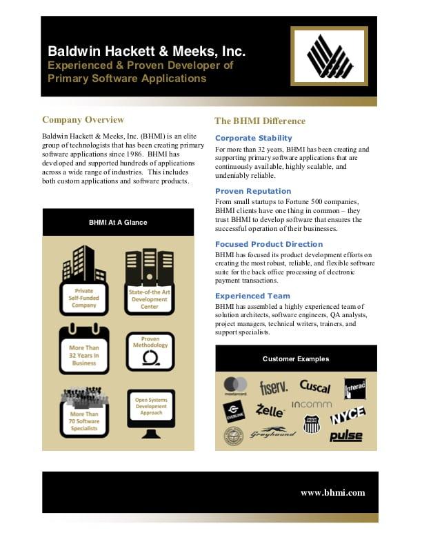 brochures Brochures BHMI Brochure